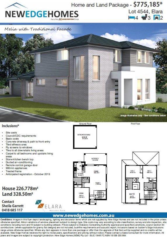Lo 4544 Proposed Road (Elara), Marsden Park NSW 2765, Image 1