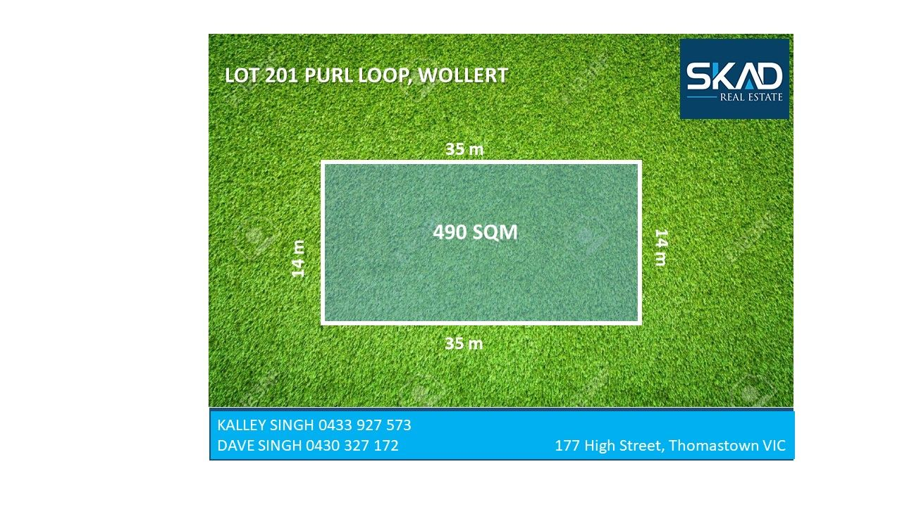Lot 201 Purl Loop, Wollert VIC 3750, Image 0