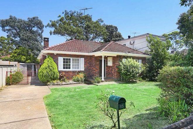Picture of 85 Wallis Avenue, STRATHFIELD NSW 2135