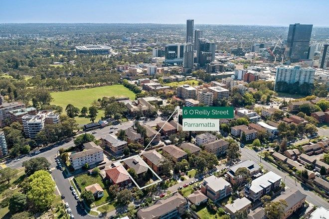 Picture of 1-8/6 O'Reilly Street, PARRAMATTA NSW 2150
