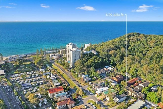 Picture of 1/29 Julia Street, BURLEIGH HEADS QLD 4220