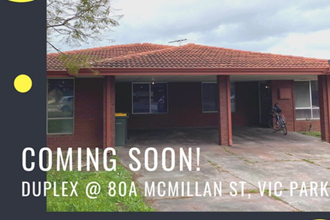 Picture of 80a McMillan Street, VICTORIA PARK WA 6100