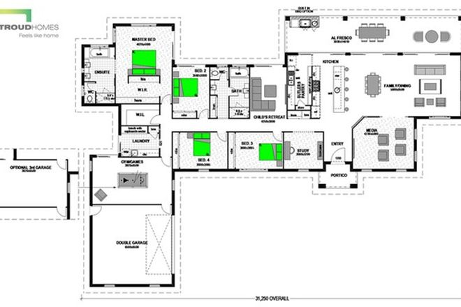 Picture of Lot 21 TILPAWAI DOWNS ESTATE, WOODFORD QLD 4514