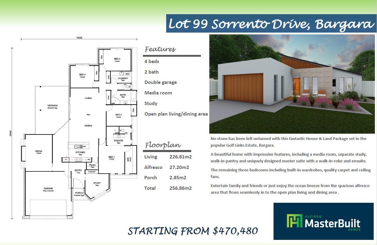 Lot 99 Sorrento Drive, Bargara QLD 4670, Image 1