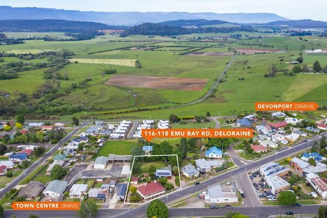 Picture of 116-118 Emu Bay Road, DELORAINE TAS 7304