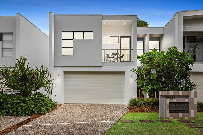 Picture of 4/323 Bayview  Street, HOLLYWELL QLD 4216