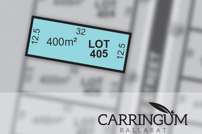 Picture of Carringum/Lot 405 Kite Street, WINTER VALLEY VIC 3358