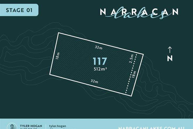 Picture of Lot 117 Narracan Lakes, NEWBOROUGH VIC 3825