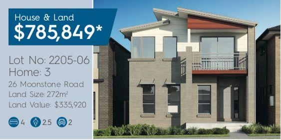 Lot 2205-06 26  Moonstone Road, Box Hill NSW 2765, Image 0