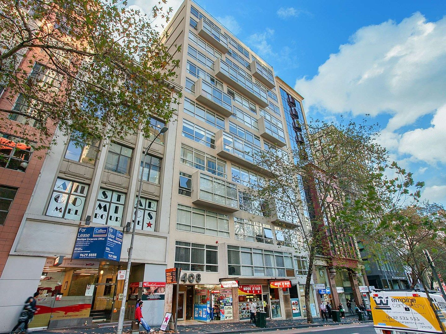 1 bedrooms Apartment / Unit / Flat in 405/408 LONSDALE STREET MELBOURNE VIC, 3000