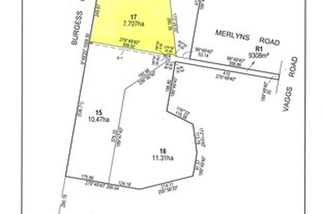 Picture of Lot 17 Merlyns Road (off Vaggs Road), ROSS CREEK VIC 3351