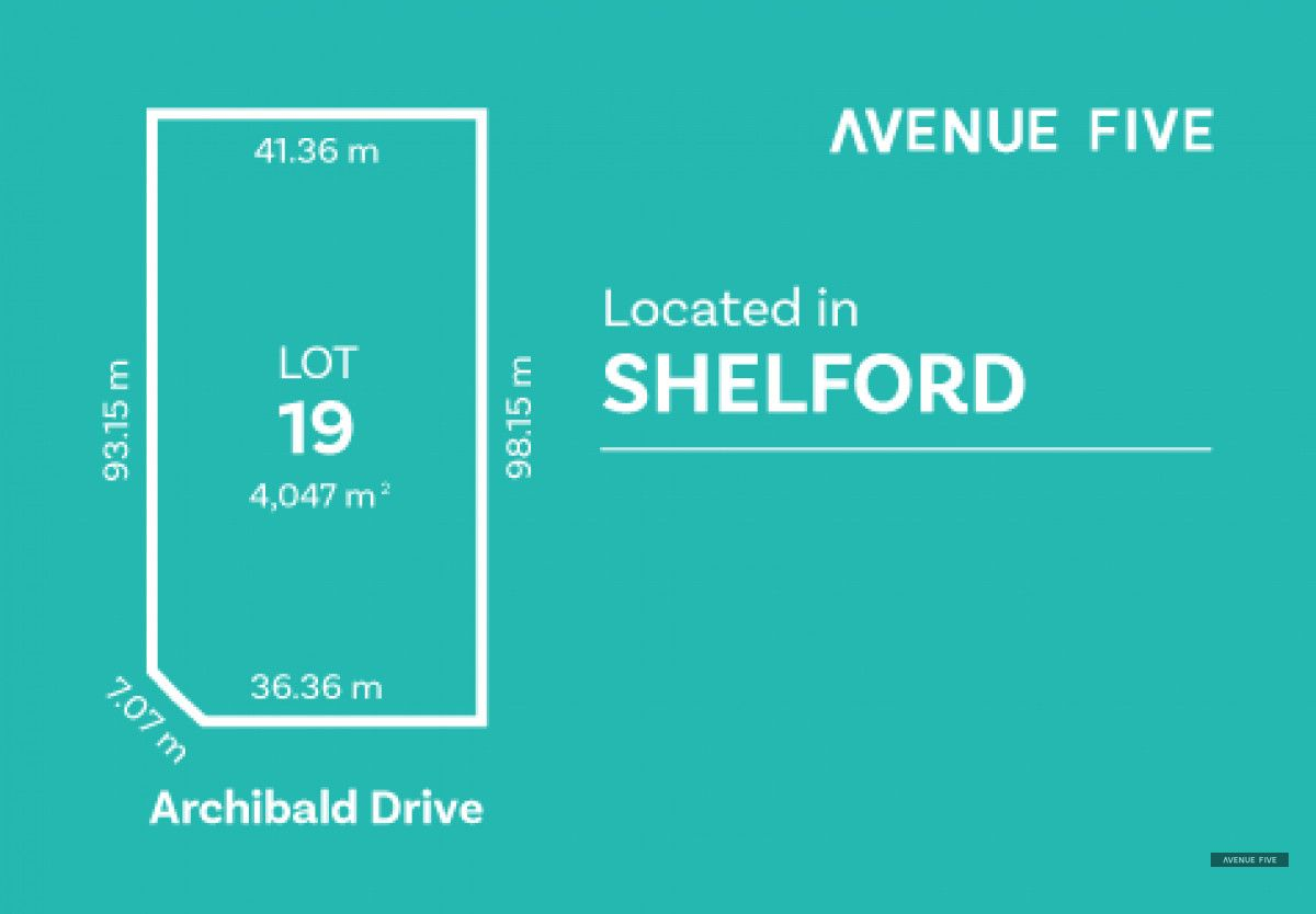 Lot 19 Archibold Drive, Shelford VIC 3329, Image 0