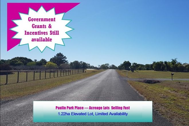 Picture of LOT 15 Paulin Park Pl, TINANA QLD 4650