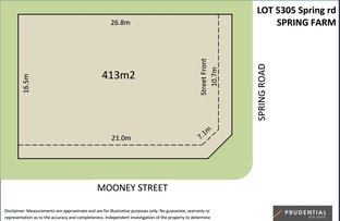 Picture of Lot 5305 Spring rd, Spring Farm NSW 2570