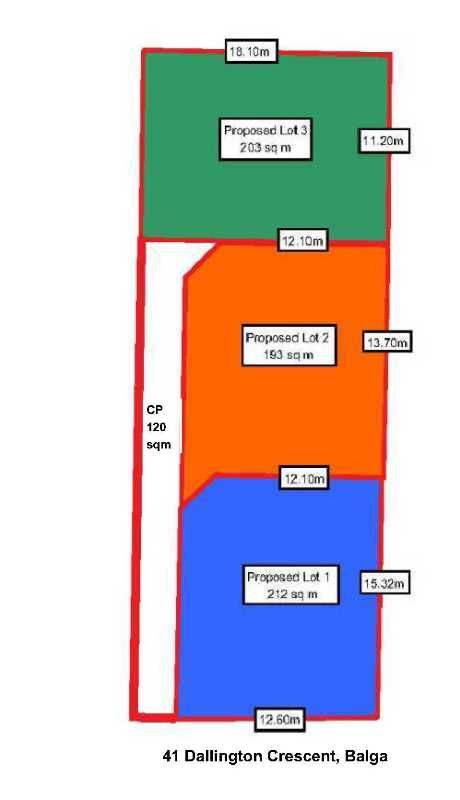 Lot1,2&3/41 Dallington Crescent, Balga WA 6061, Image 0