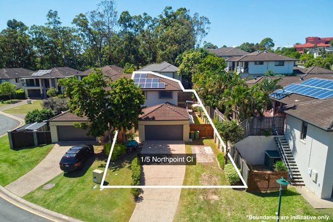 Picture of 1/5 Northpoint Close, ROBINA QLD 4226