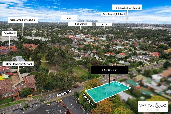 Picture of 1 Kokoda Street, HEIDELBERG WEST VIC 3081