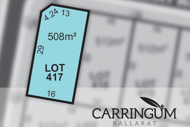 Picture of Carringum/Lot 417 Kite Street, WINTER VALLEY VIC 3358