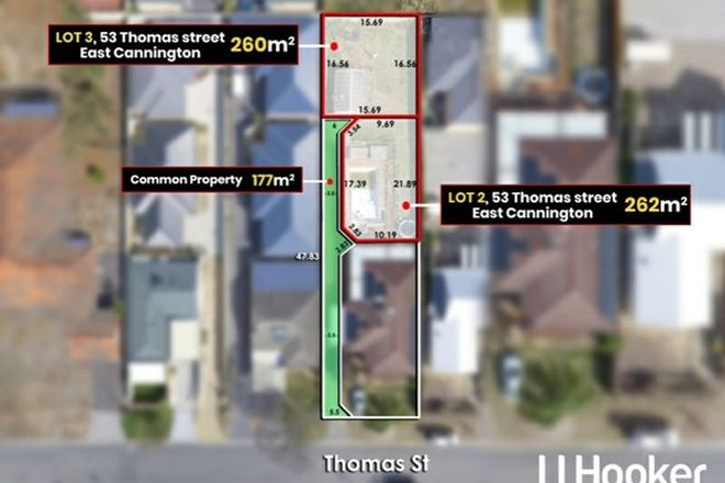 Picture of 2 & 3/53 Thomas Street, EAST CANNINGTON WA 6107