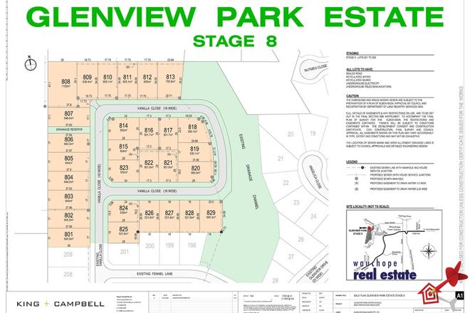 Picture of Lot 802/Stage 8 Glenview Park Estate, WAUCHOPE NSW 2446