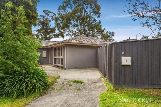 Picture of 6 Park Road, RINGWOOD NORTH VIC 3134