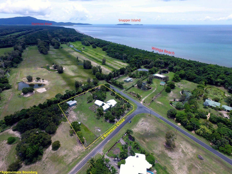1 Bowman Close, Wonga Beach QLD 4873, Image 0