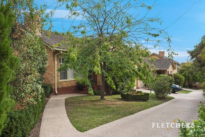 Picture of 3/38 Florence Road, SURREY HILLS VIC 3127
