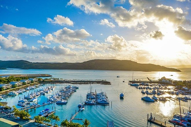 Picture of 13/1 Marina Drive, Yacht Harbour Towers, HAMILTON ISLAND QLD 4803