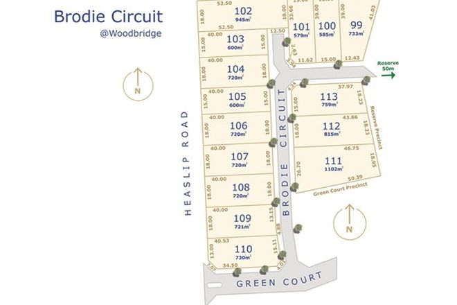 Picture of Lot 109 Brodie Circuit, ANGLE VALE SA 5117