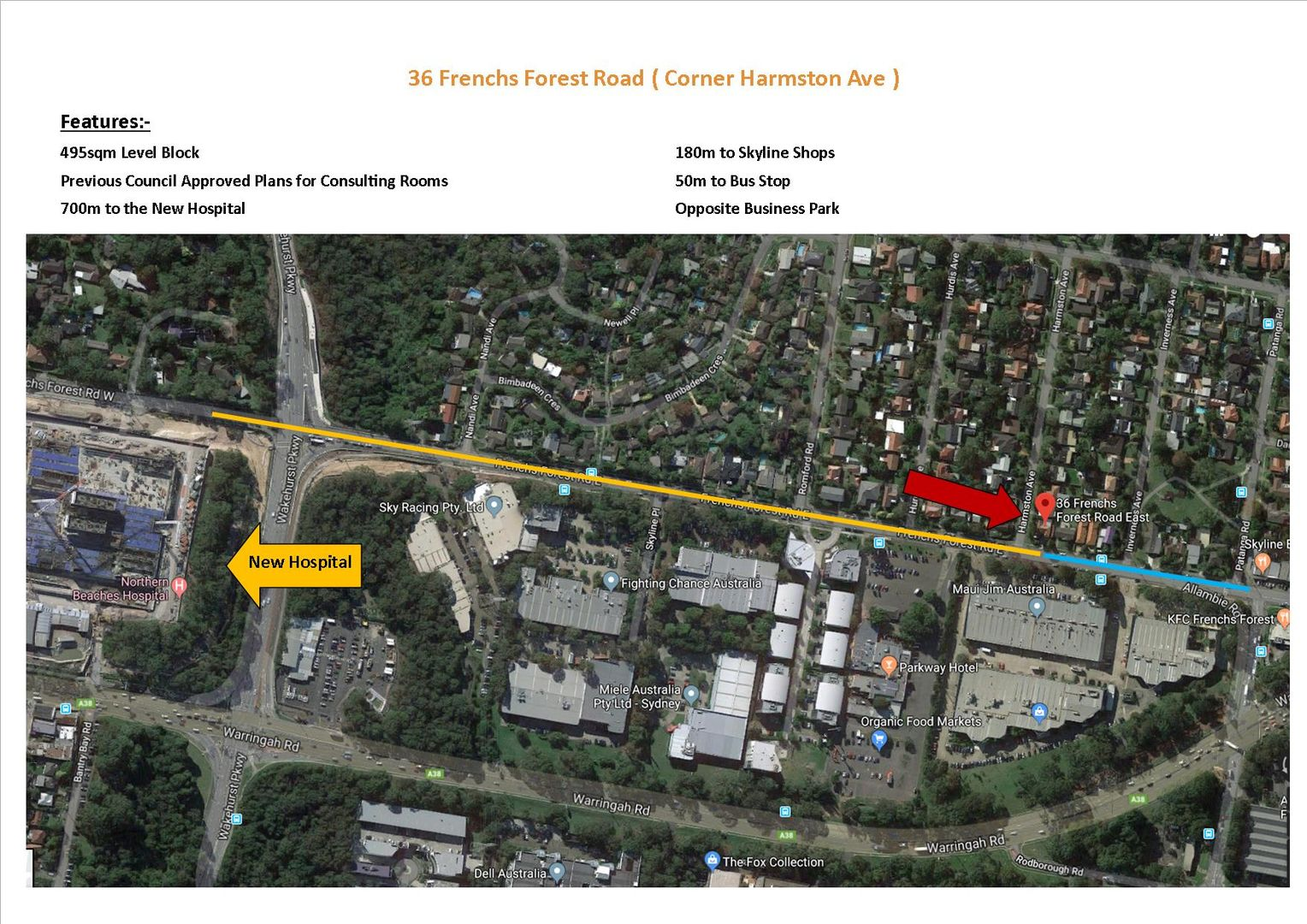 36 Frenchs Forest Road, Frenchs Forest NSW 2086, Image 2