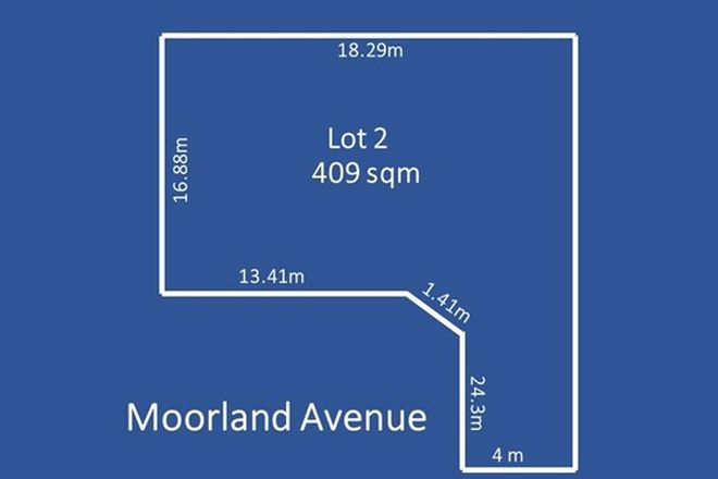 Picture of Lot 2,  7 Moorland Avenue, BEVERLEY SA 5009