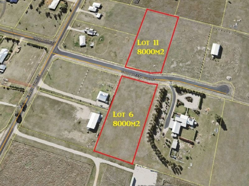 Lots 6 or 11 Cobbareena Court, Chinchilla QLD 4413, Image 0