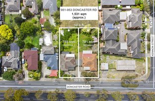 Picture of 951-953 Doncaster Road, Doncaster East VIC 3109
