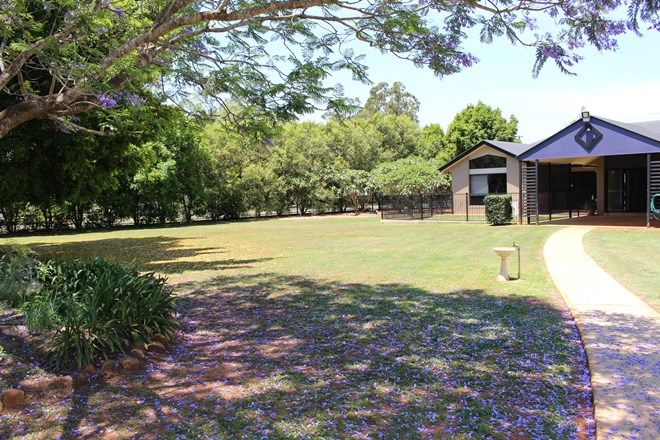 Picture of 181 Lockyer View Road, WIVENHOE POCKET QLD 4306
