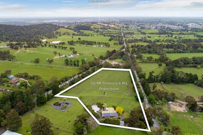 Picture of 50 Mount Shamrock Road, PAKENHAM VIC 3810
