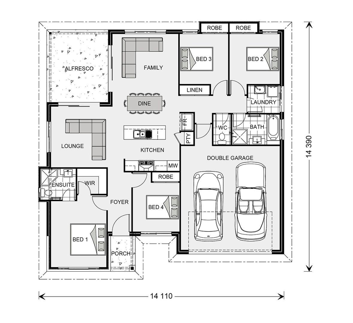 Lot 1210 Leatherwood Street, Honeywood Estate, Fernvale QLD 4306, Image 1