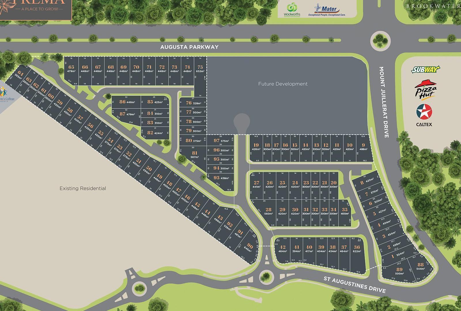 Lot 89 St Augustines Drive, Augustine Heights QLD 4300, Image 2