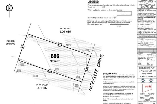 Picture of Lot 686 Highgate Drive, FLAGSTONE QLD 4280