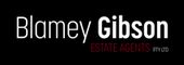 Logo for Blamey Gibson Estate Agents Pty Ltd