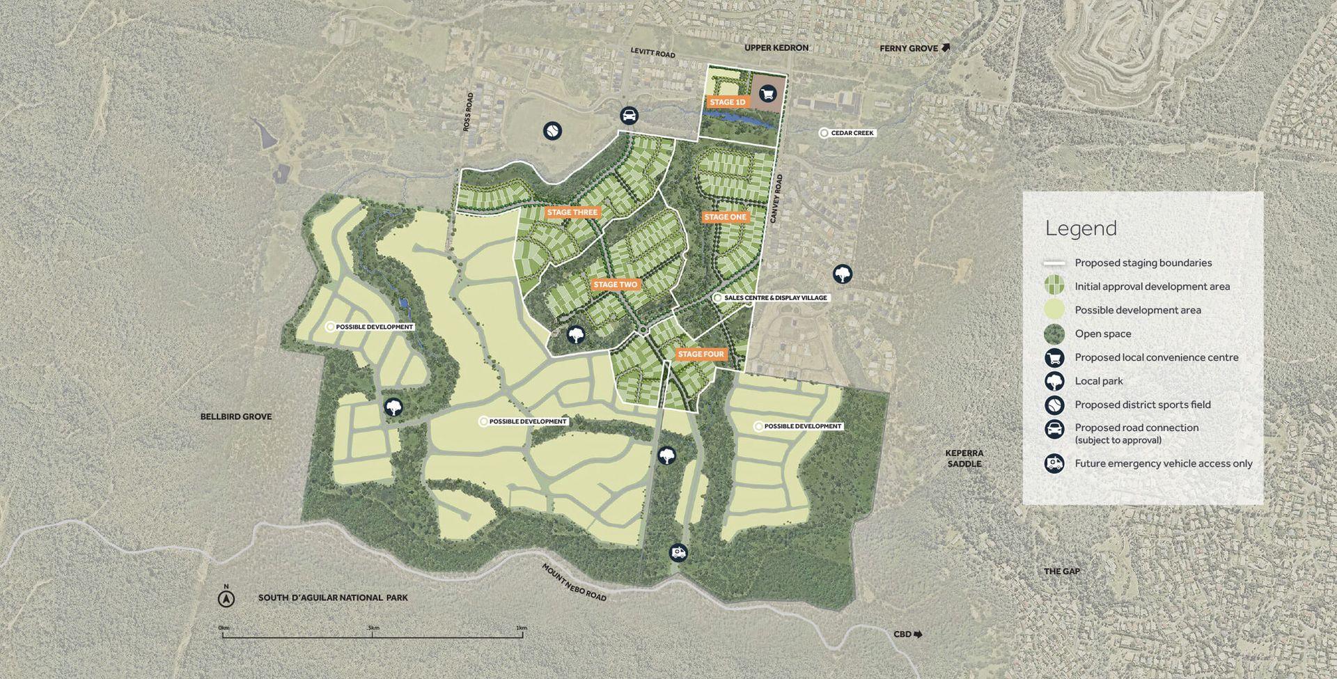 Lot 353 Tooloom Circuit, Upper Kedron QLD 4055, Image 2