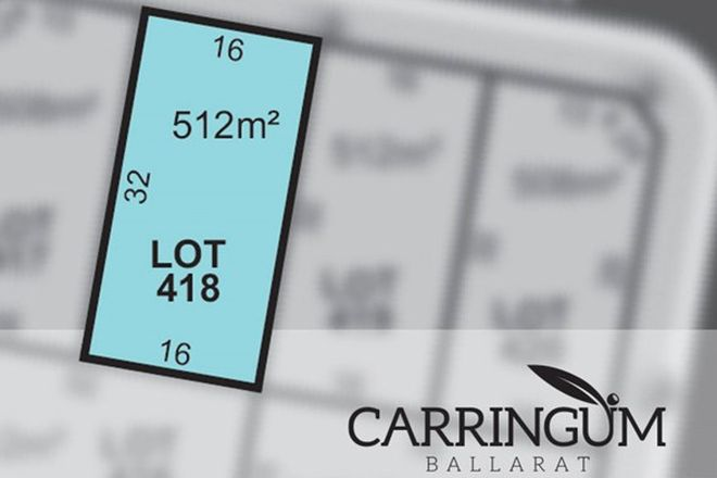 Picture of Carringum/Lot 418 Cassowary Way, WINTER VALLEY VIC 3358
