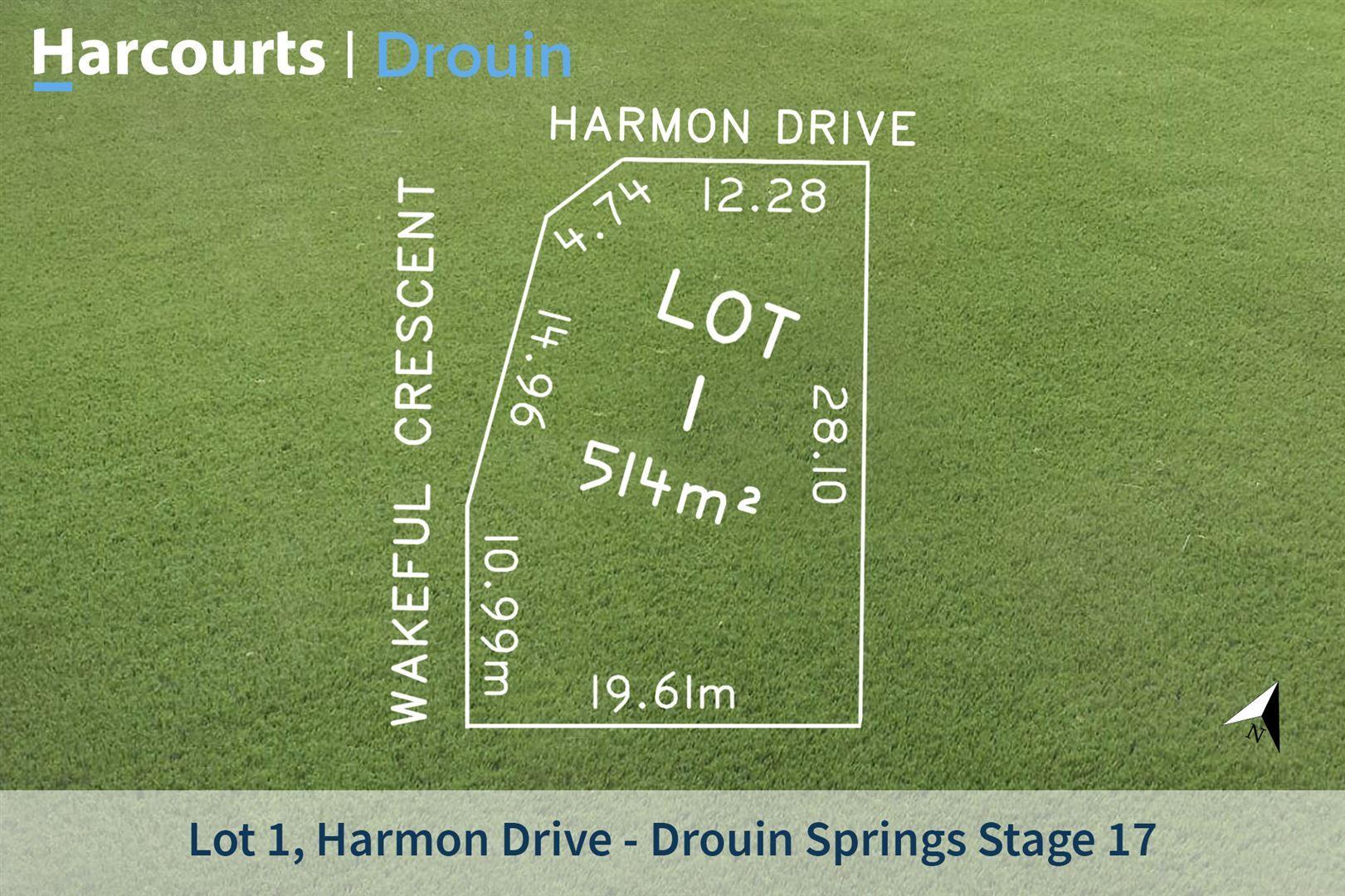 Lot 1 Harmon Drive, Drouin VIC 3818, Image 1