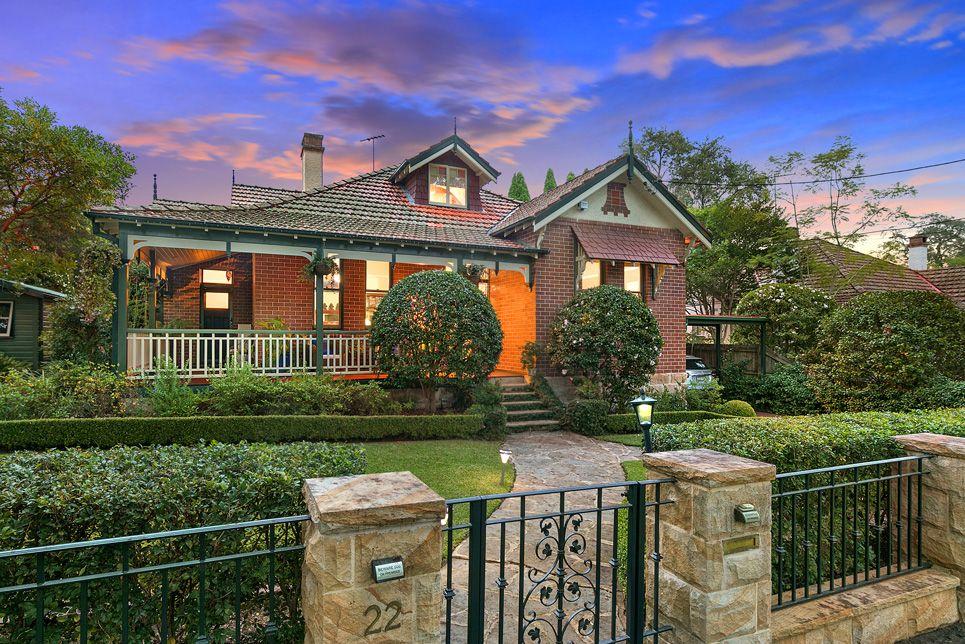 22 Bareena Avenue, Wahroonga NSW 2076, Image 0