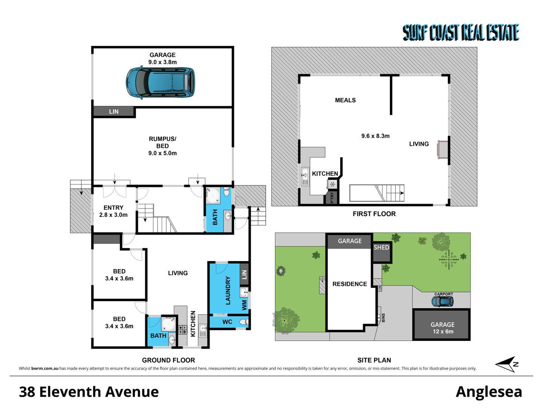 38 ELEVENTH AVENUE, Anglesea VIC 3230, Image 1
