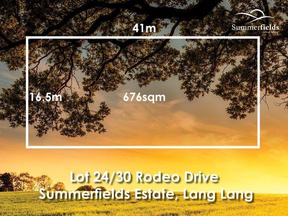 Lot Lot 24/30 Rodeo Drive, Lang Lang VIC 3984, Image 2