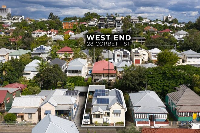 Picture of 28 Corbett Street, WEST END QLD 4101
