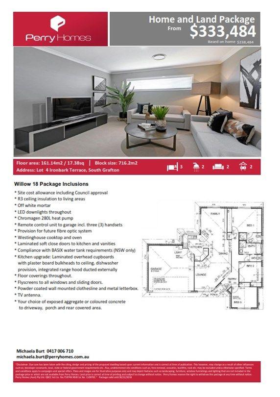 Lot 4 Ironbark Terrace, South Grafton NSW 2460, Image 1