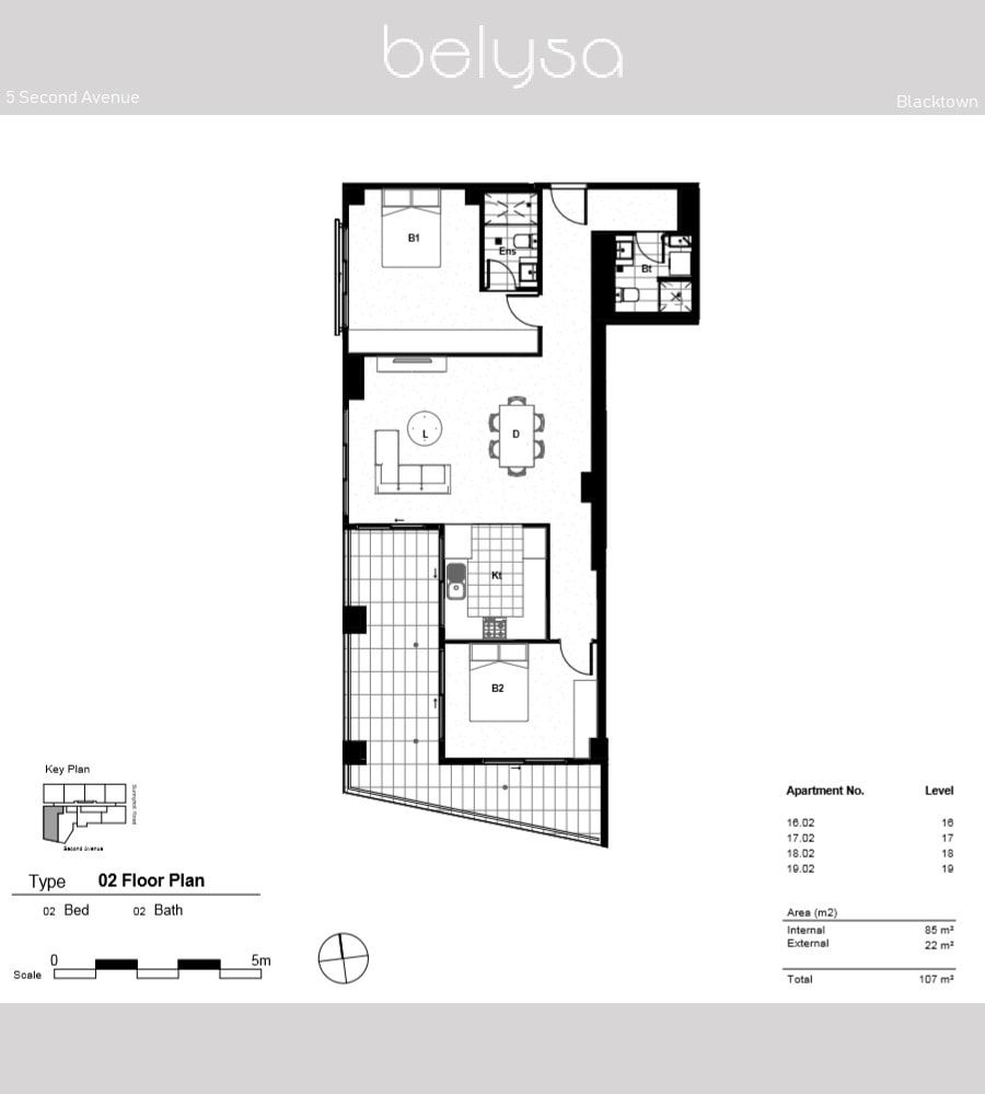 1202/3-5 Second Ave, Blacktown NSW 2148, Image 1