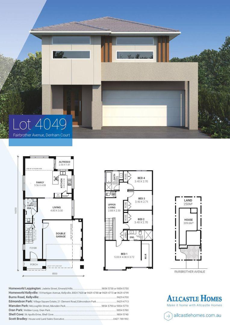 Lot 4049 (18)  Fairbrother Avenue, Denham Court NSW 2565, Image 1