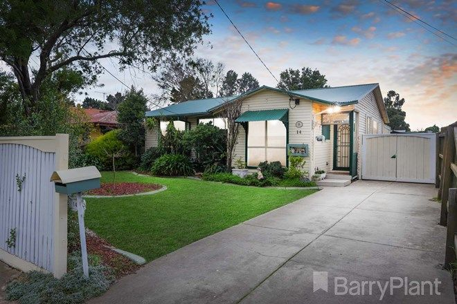 Picture of 14 Middleton Street, BRAYBROOK VIC 3019
